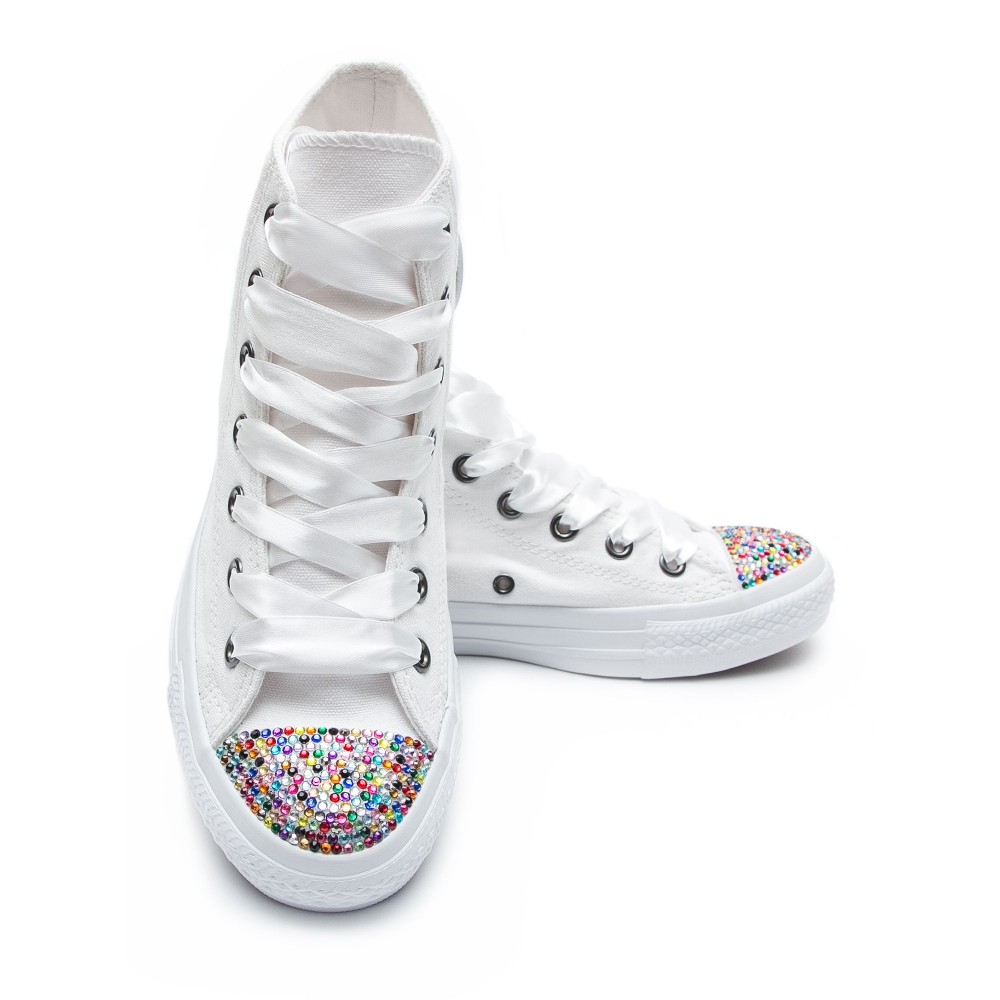 dd094558140 Converse Crystal High White