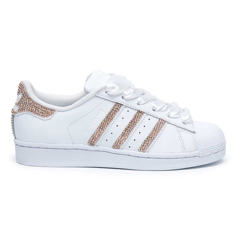 adidas superstar swarovski ii white shoozers. Black Bedroom Furniture Sets. Home Design Ideas