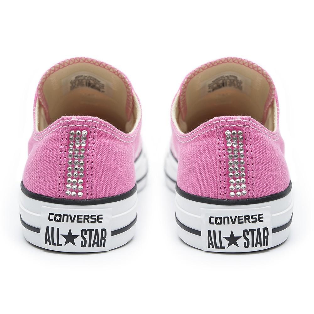 3a328e8cd683 Converse Swarovski Pink Low - Shoozers