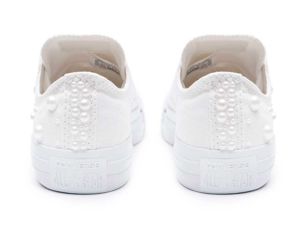 63596d95ac Converse Pearls Wedding edition - Shoozers