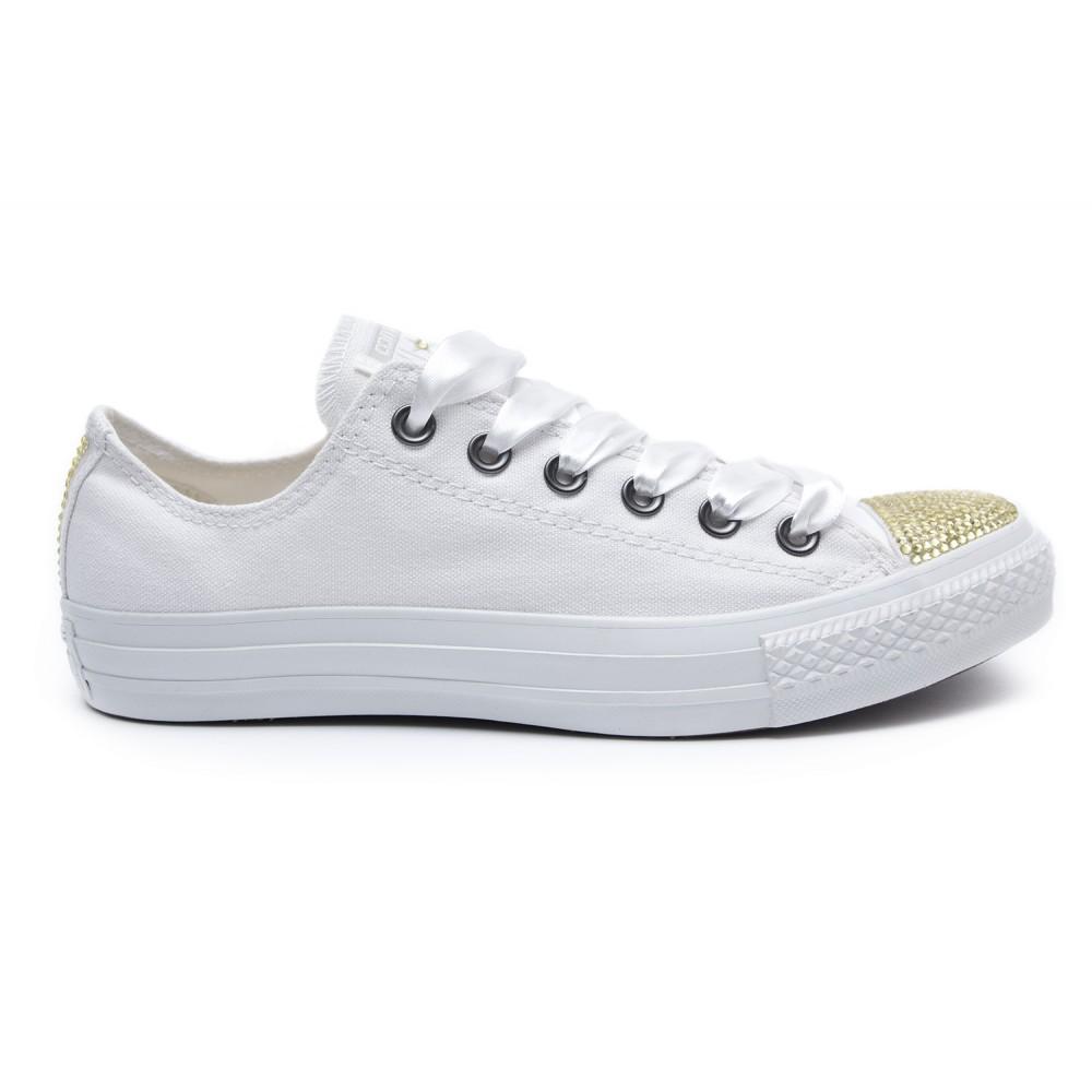 65b3602a49cc Converse Swarovski White I Low - Shoozers