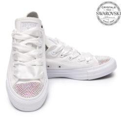 3ac22dea8c3d 169.90€. Converse Swarovski White ...
