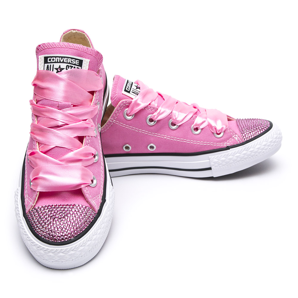 a254e4610766 Converse Crystal Pink Low - Shoozers