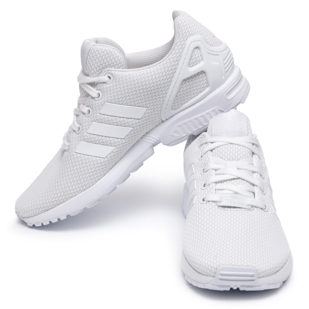size 40 d9683 c7cb6 Adidas ZX Flux White