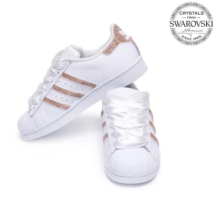 0cd9436bd Adidas Superstar Swarovski II White