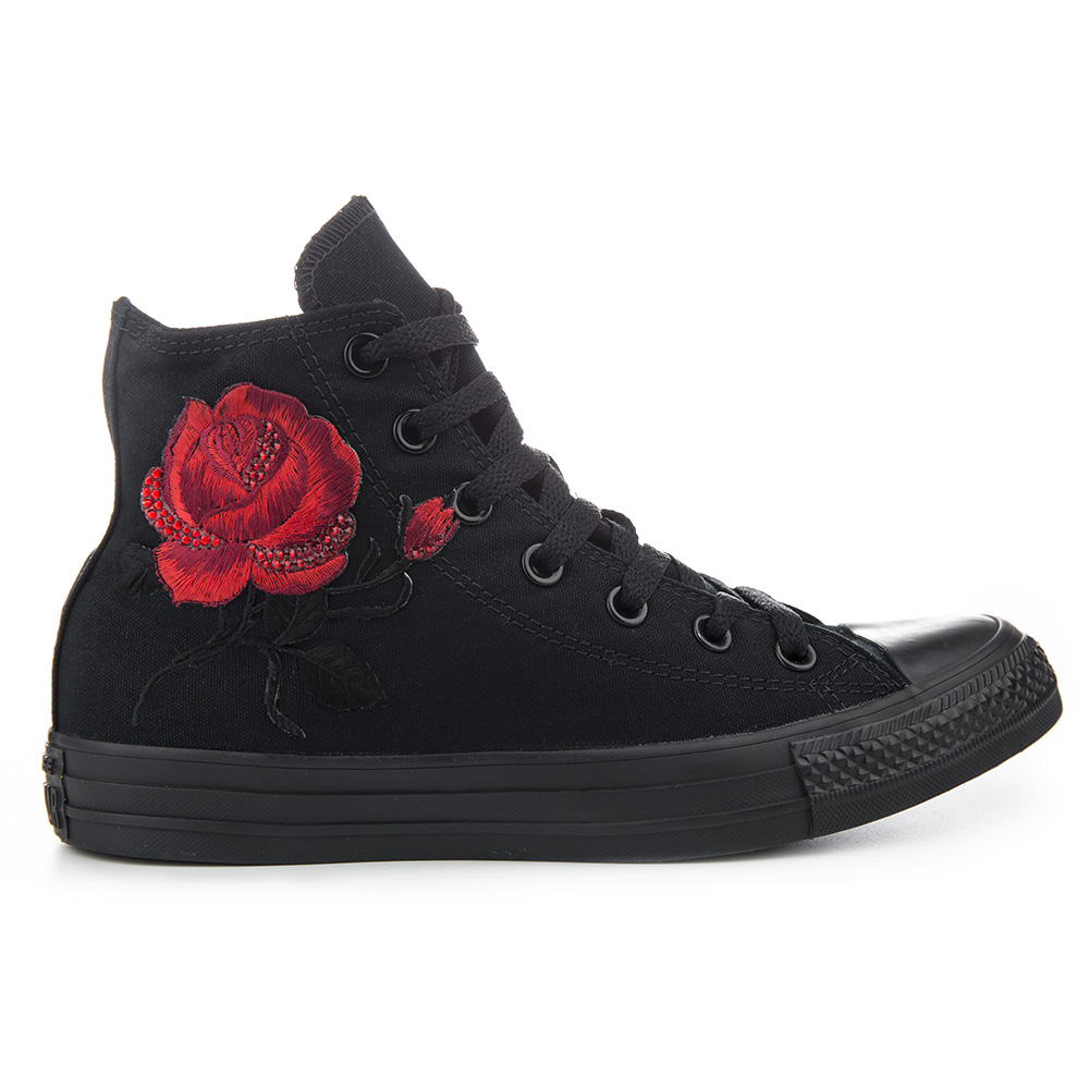 Red Shoes High Tops Fashion Men