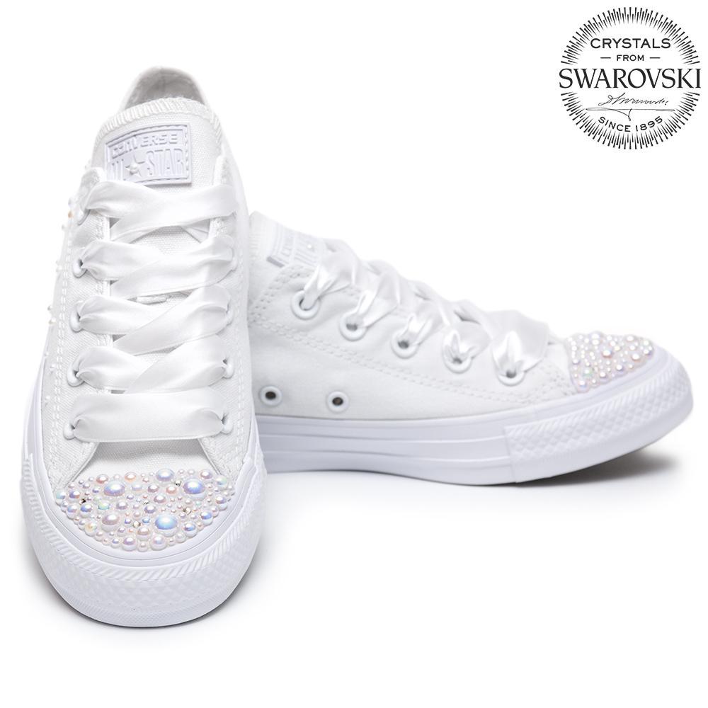 a25584cd2 Converse Pearls Wedding edition