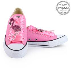 946b3b0dcd1a6 149.90€ 112.38€. Converse Flamingo Swarovski Zľava