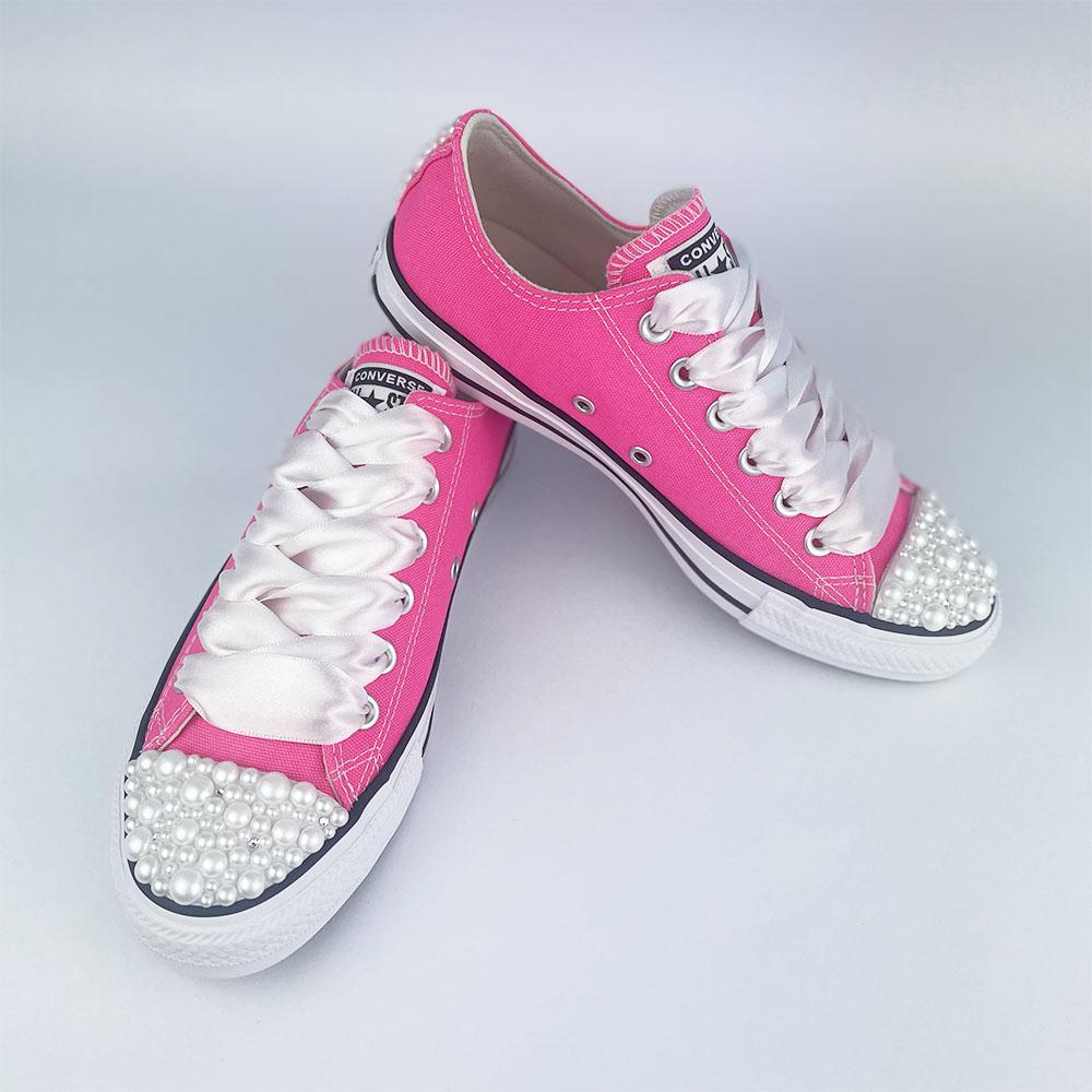 Converse hyper pink pearls